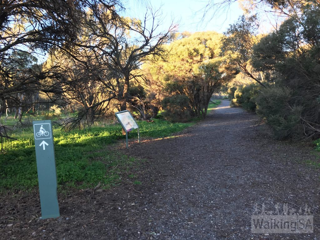 Pingle Farm Trail trailhead off Commercial Road, Port Noarlunga South