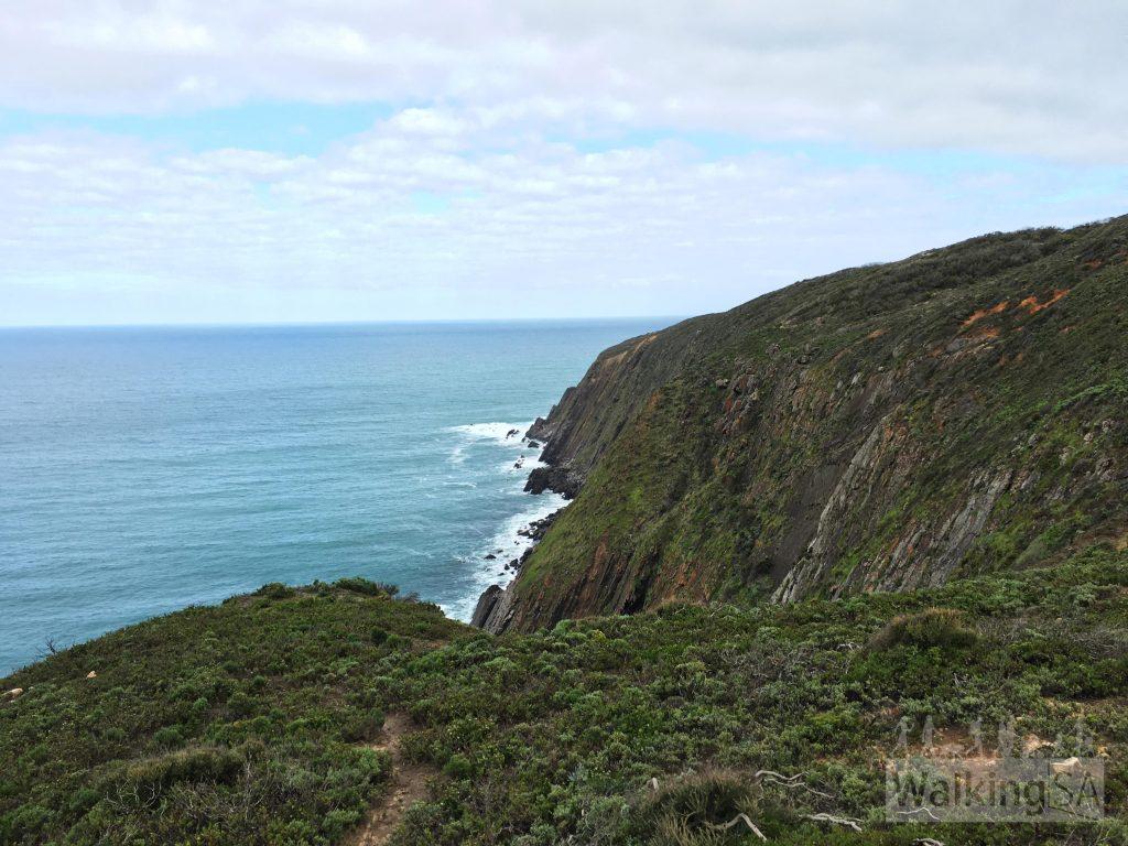 Cliffs on the Coastal Cliffs Walking Trail and Heysen Trail