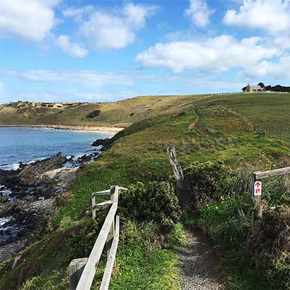 Hikes in Newland Head Conservation Park and along the Heysen Trail to Victor Harbor