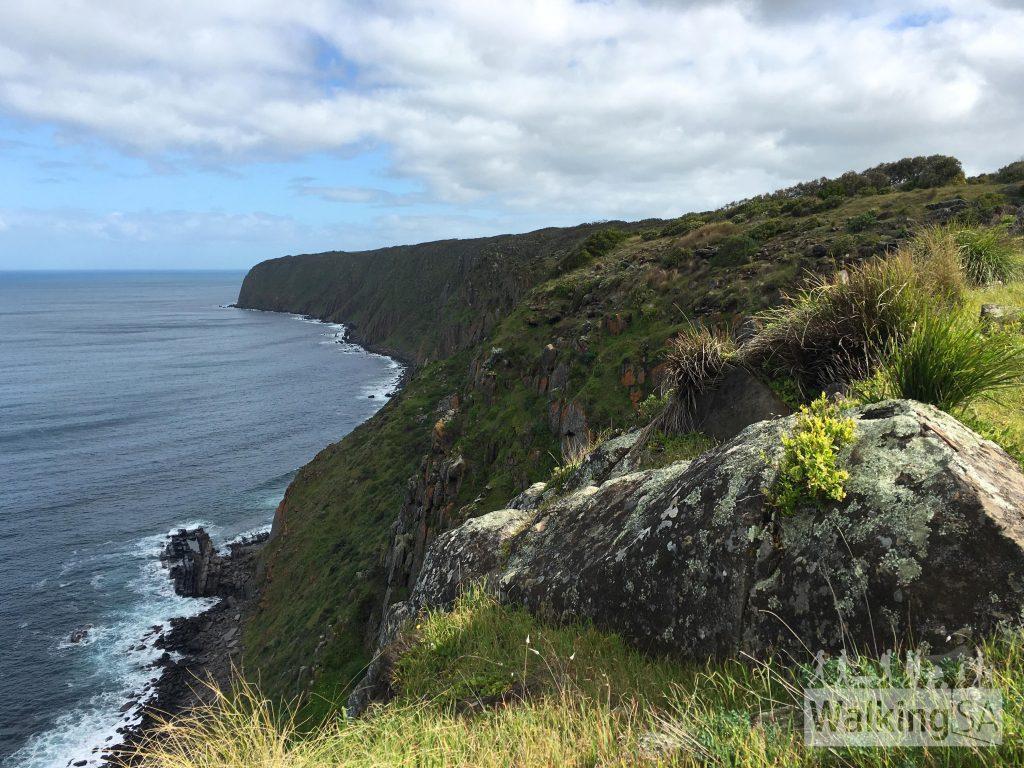 Views to Waitpinga Cliffs