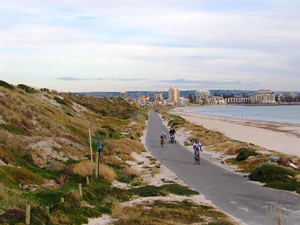 Coast Park Path along Adelaides Beaches