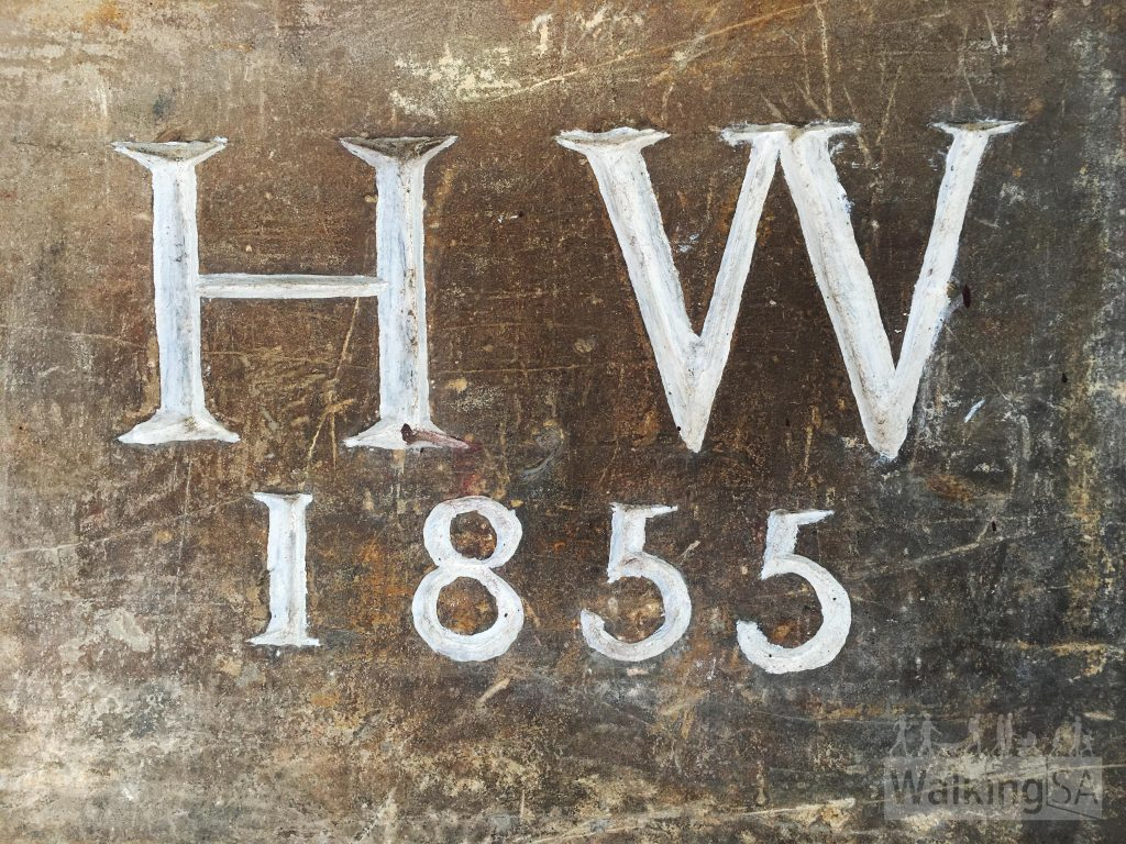 Henry Wylie built this shop and dwelling in 1855, and his initials are still evident on the foundation stone