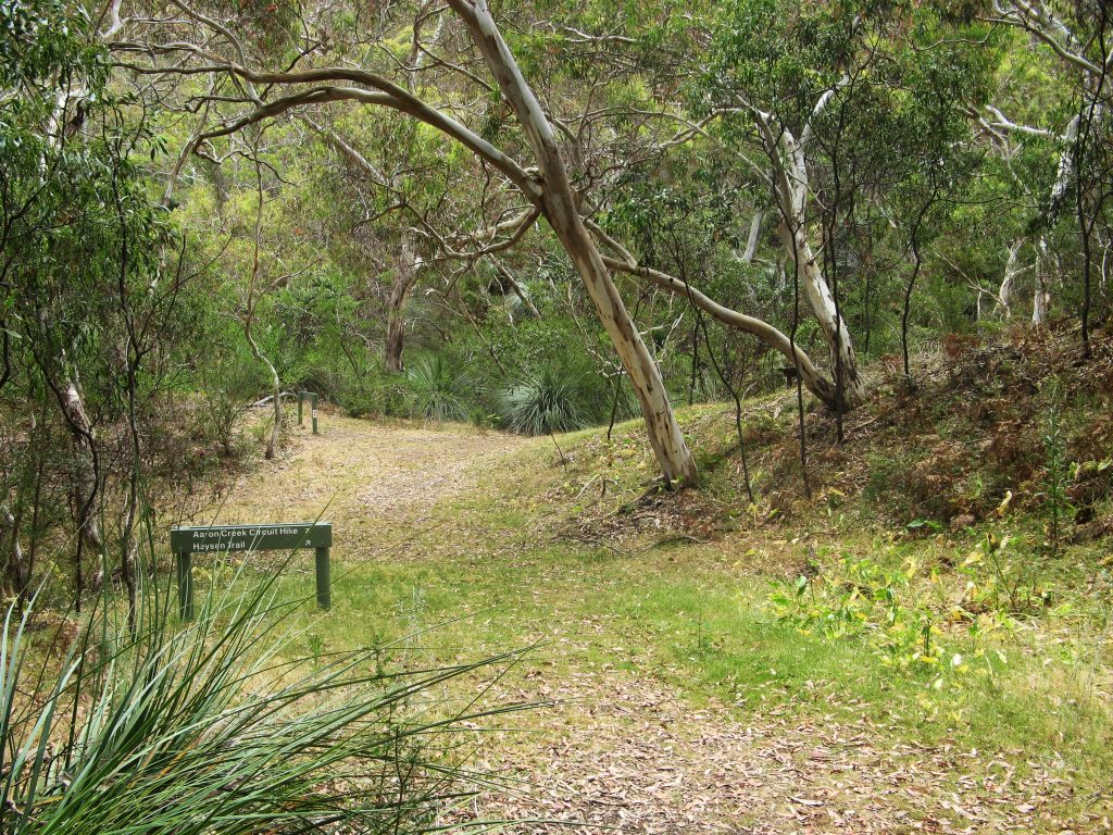 Heysen Trail at Aaron Creek, Deep Creek Conservation Park