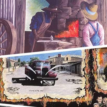 Nairne Mural & Historic Walk