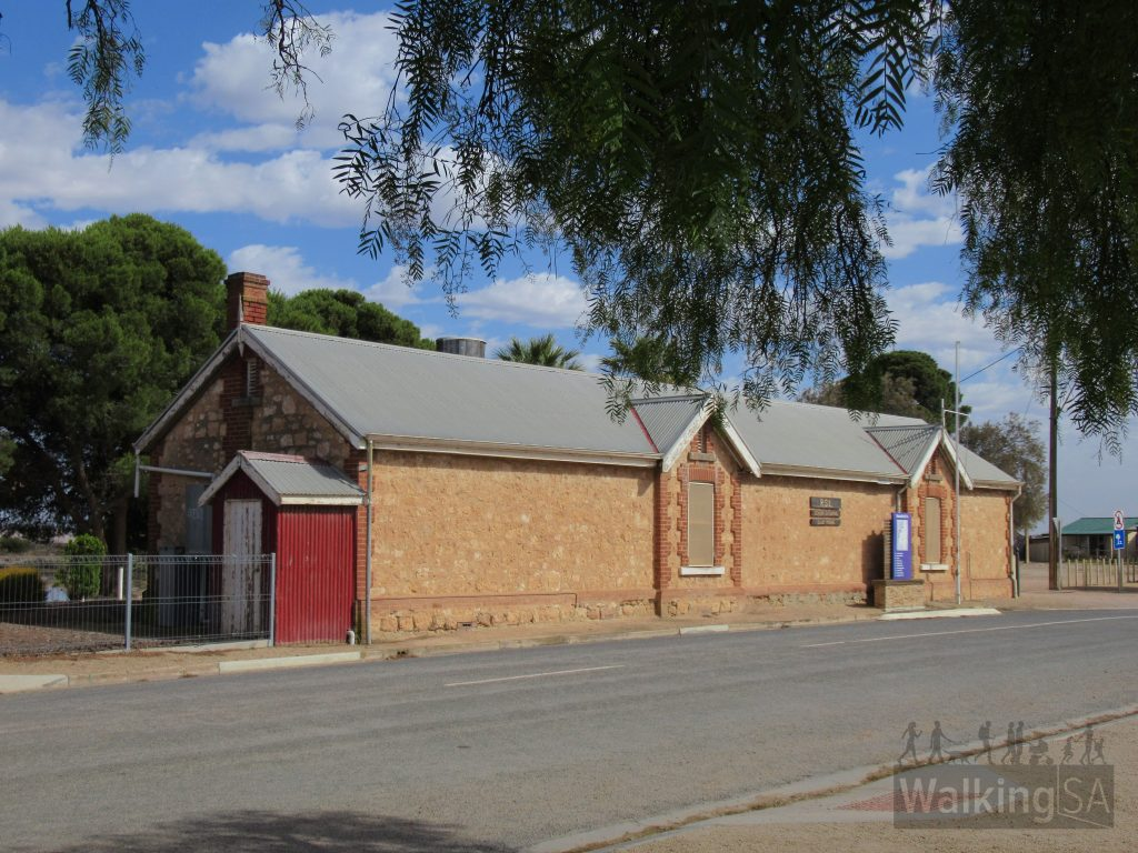 The former railway refreshment room in Port Wakefield provided food and drinks for train travellers and workers