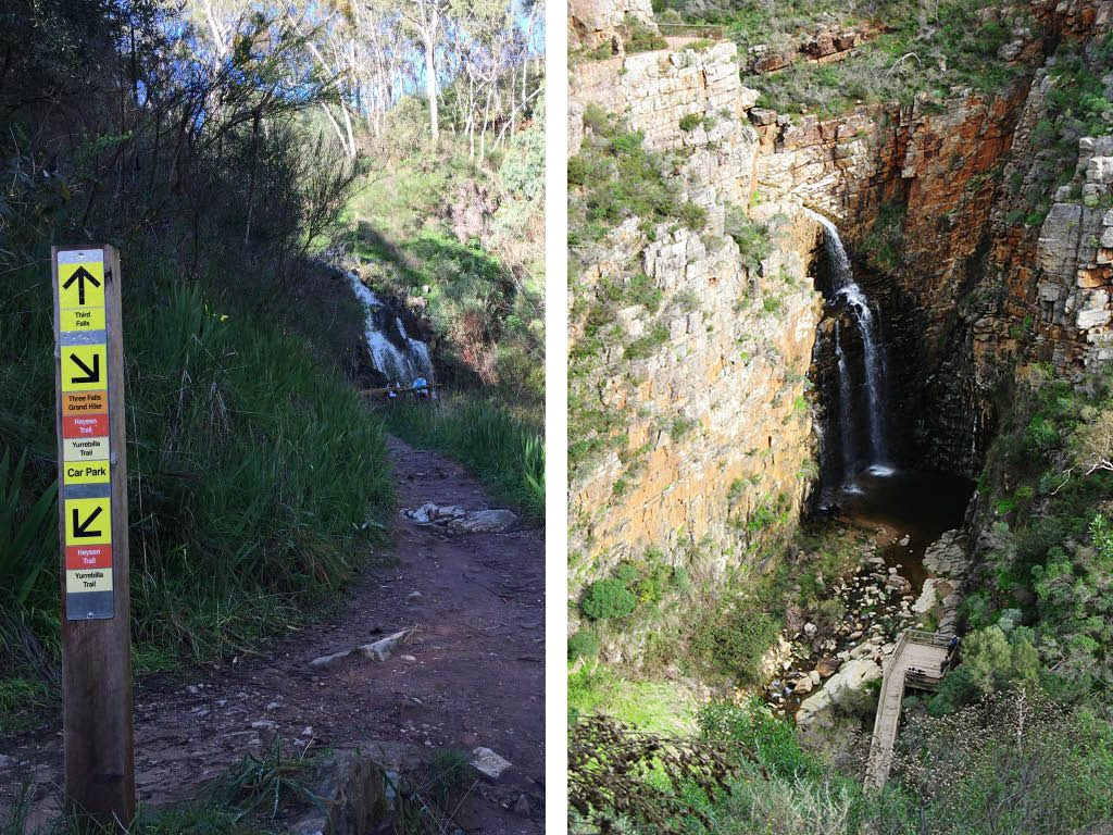 Three Falls Grand Hike, Morialta
