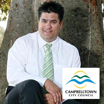 2016 Award Winner: Paul Di Iulio (CEO), Campbelltown City Council