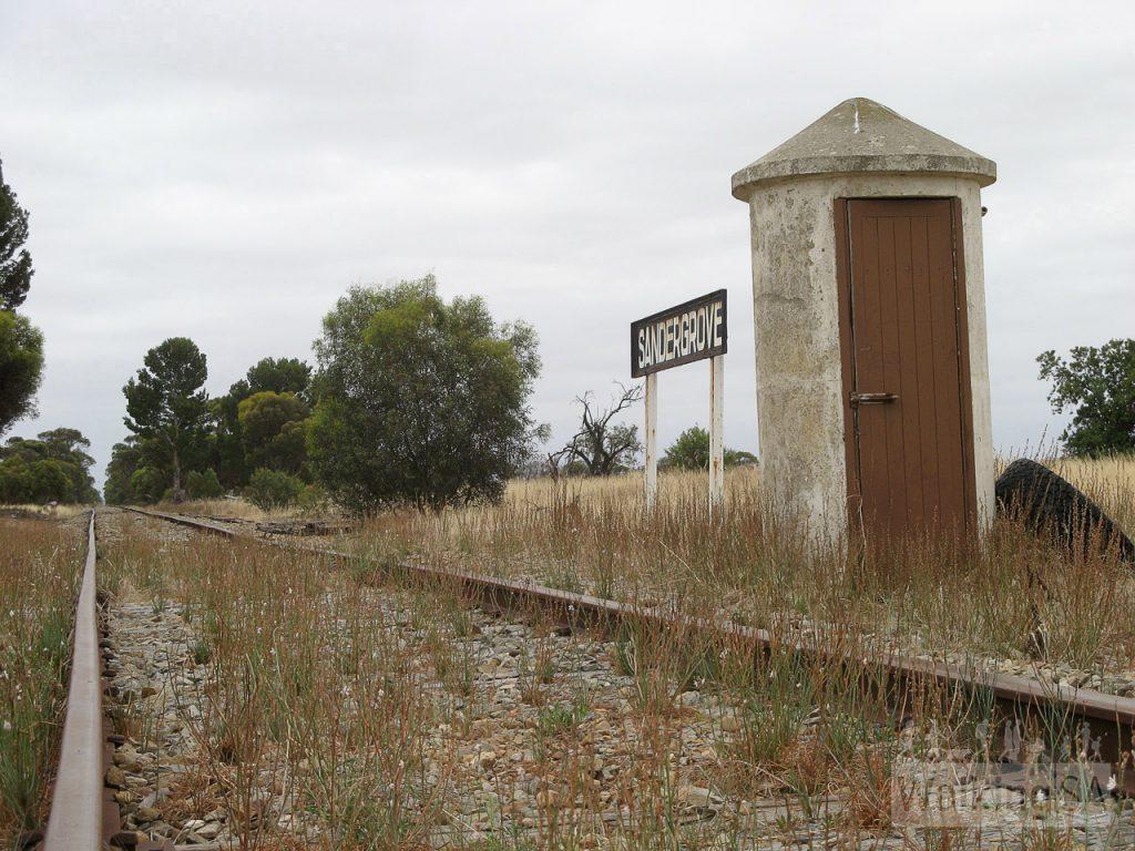 Former Sandergrove Train Station
