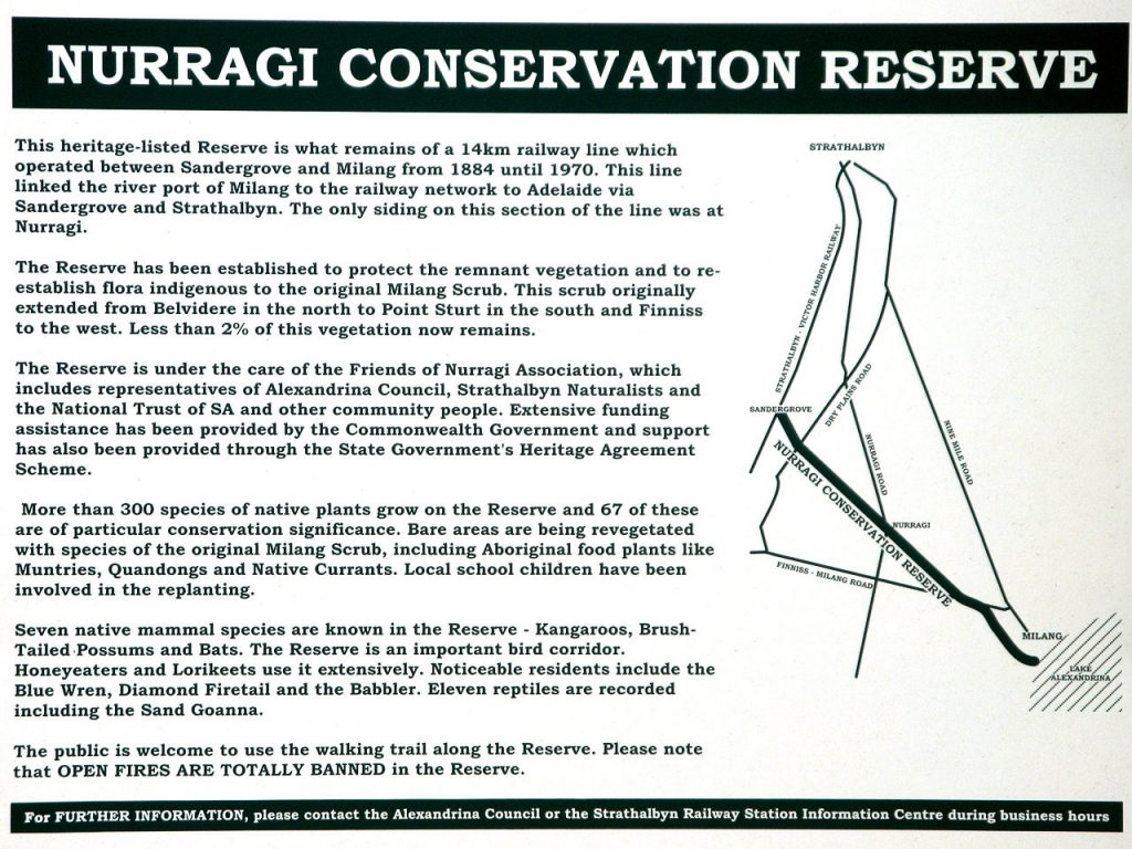 About the Nurragi Conservation Reserve