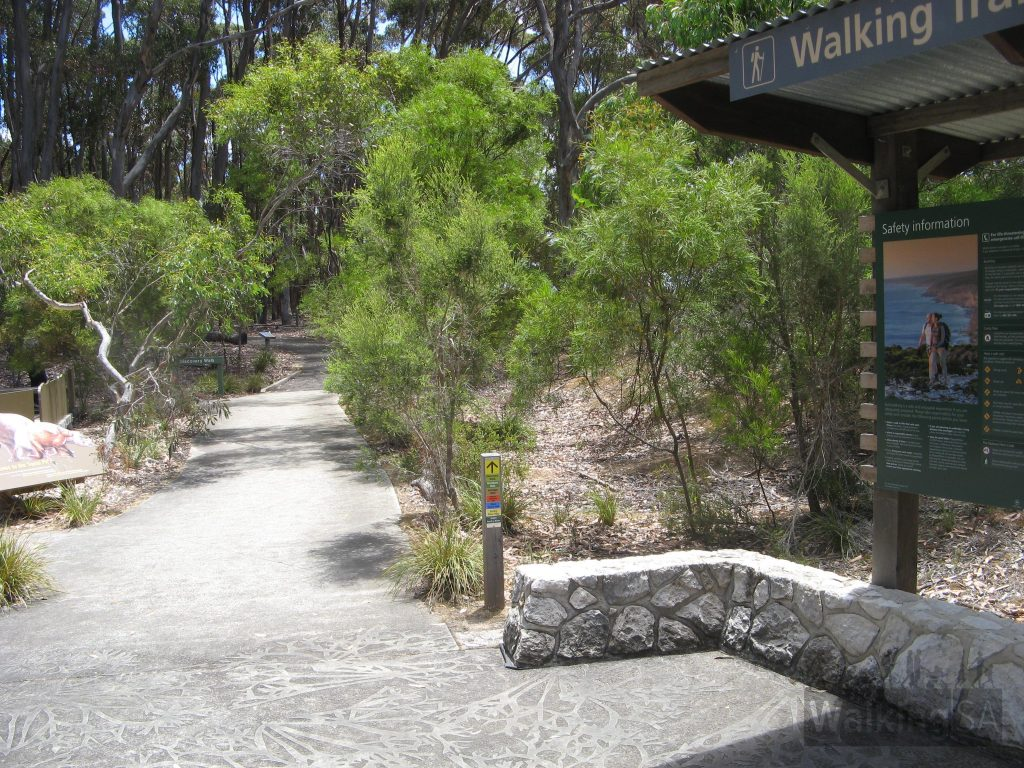 All walks leave from the infomation shelter at the Flinders Chase Visitor Centre