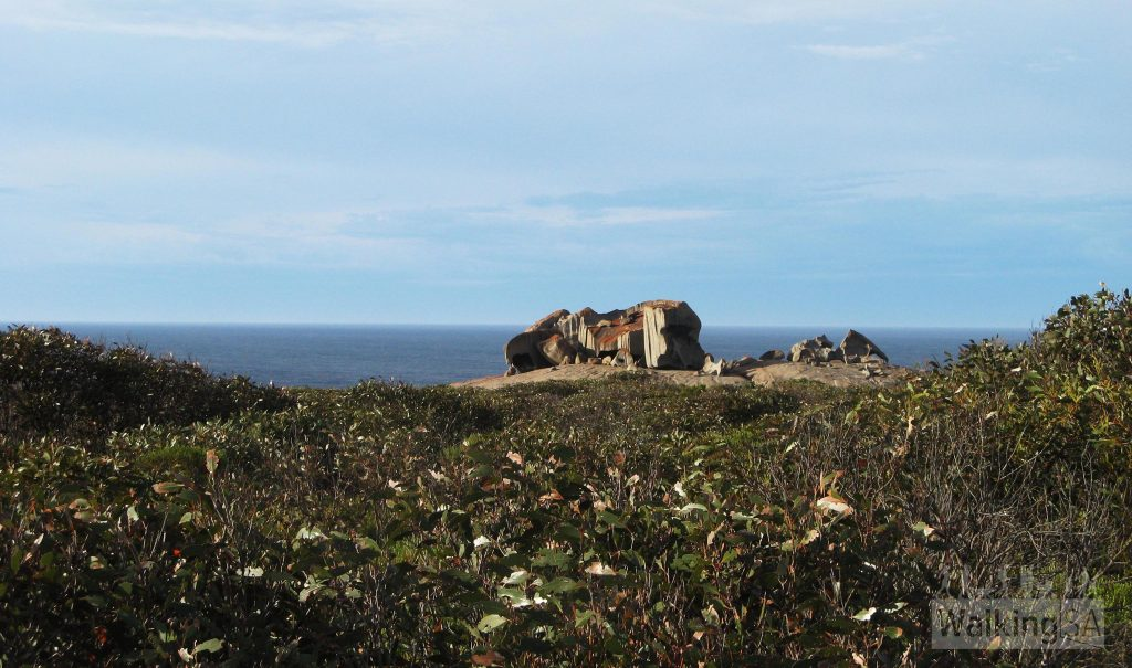 First glimpse of Remarkable Rocks