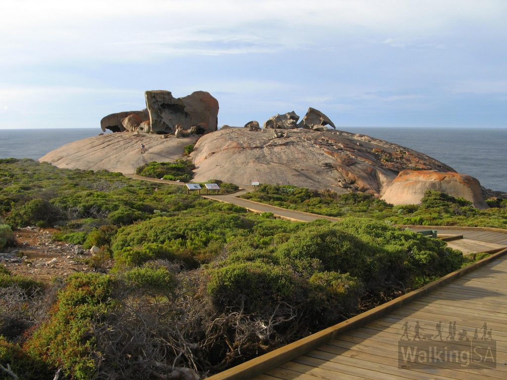Remarkable Rocks from the walking trail