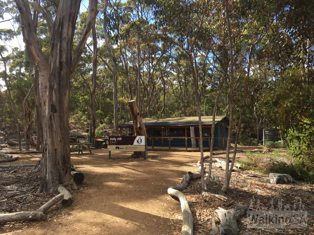 The picnic area at Kelly Hill Caves