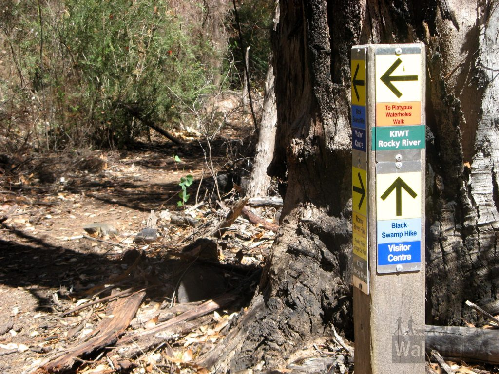 The trails are well signposts, so it's easy to stick to your chosen trail route