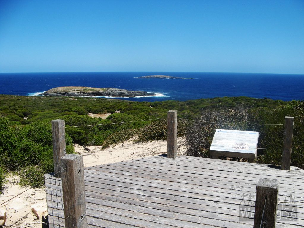 Views from the lookout on the Cape du Couedic Hike