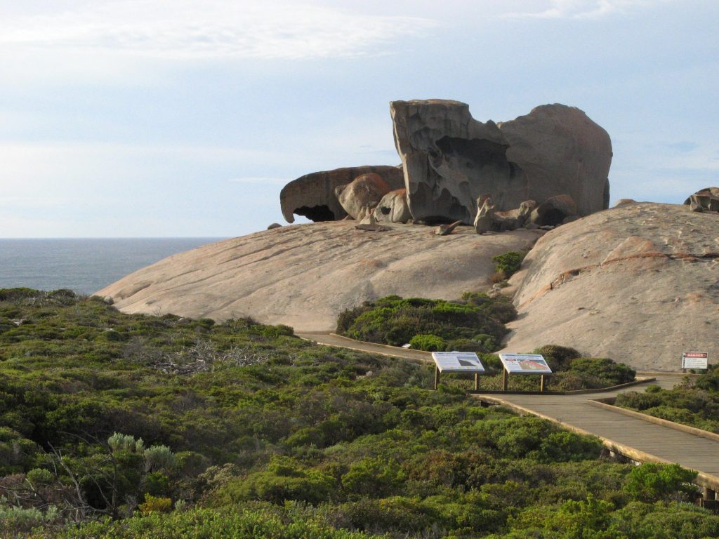 Remarkable Rocks Walk