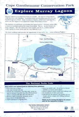 Map of the Curley Creek Hike, Bald Hill Walk and Timber Creek Walk as appears on the trailhead sign of the Curley Creek Hike