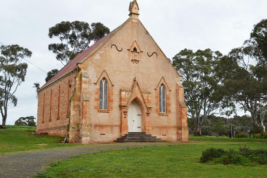 Wesleyan Methodist Church. This gothic building was Australia's first United Methodist Church. Photo by Ron L (https://www.panoramio.com/photo/111439034)