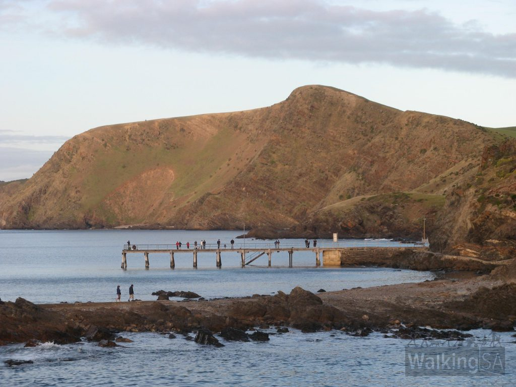 Second Valley jetty and causeway