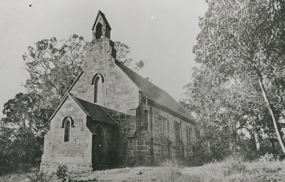 St. Marks Anglican Church, 1920. Photo courtesy of the State Library of South Australia B16631