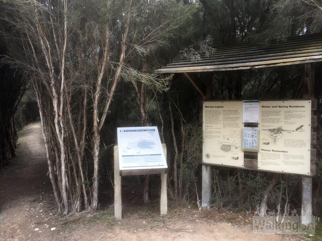 Trailhead of the Timber Creek Walk