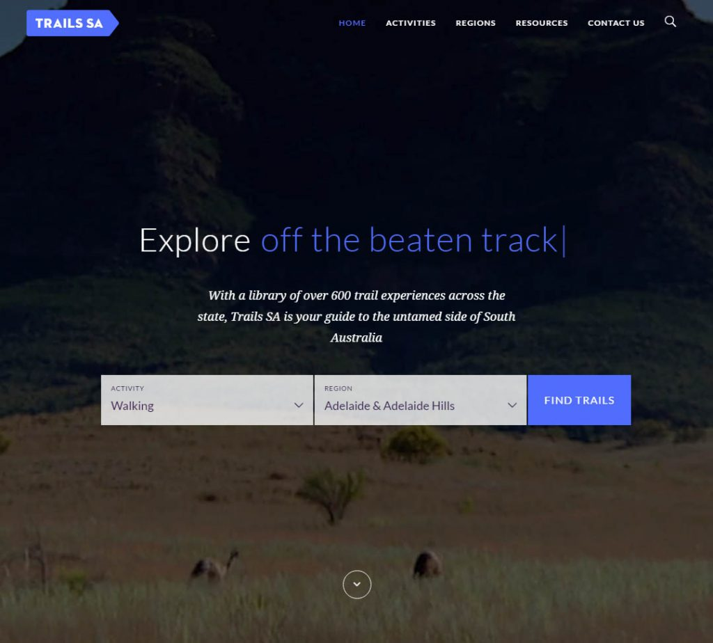 New Trails SA website launched by Recreation SA