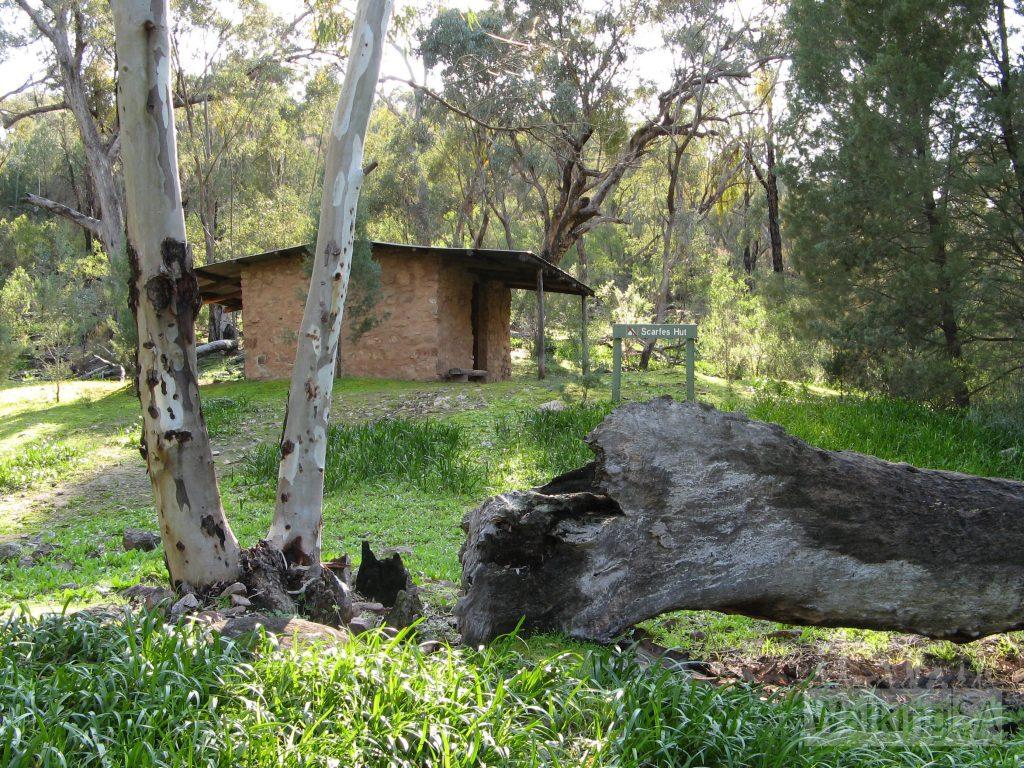 Scarfes Hut is an old shepherds hut