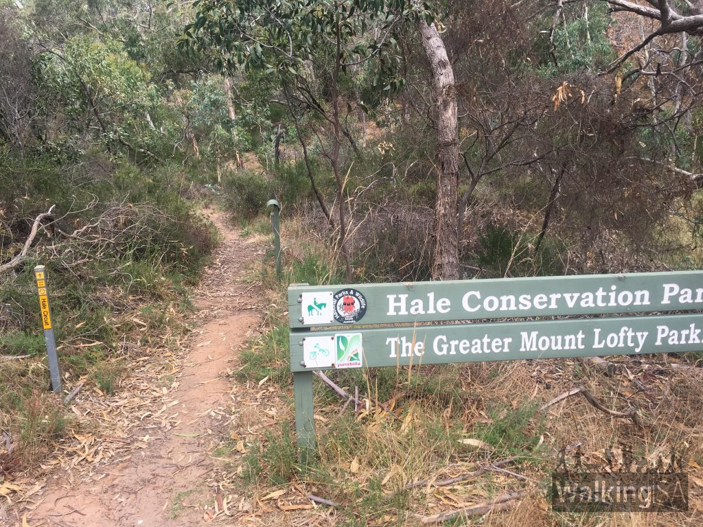 "The trail loop in Hale Conservation Park is well marked, and there are hike brochures available at the trailhead, thanks to the <a href=""https://www.walkingtrailssupportgroup.org.au/"">Walking Trails Support Group</a>"