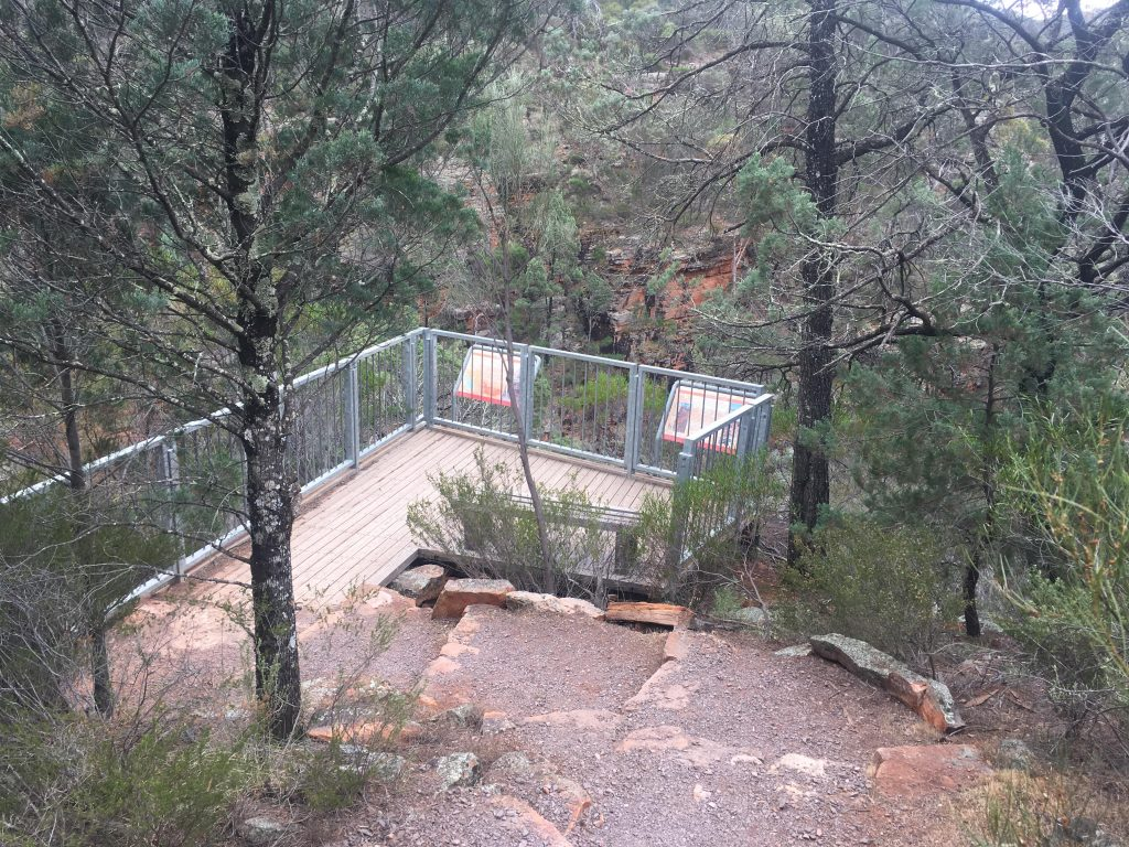 Ali Lookout Walk, Alligator Gorge