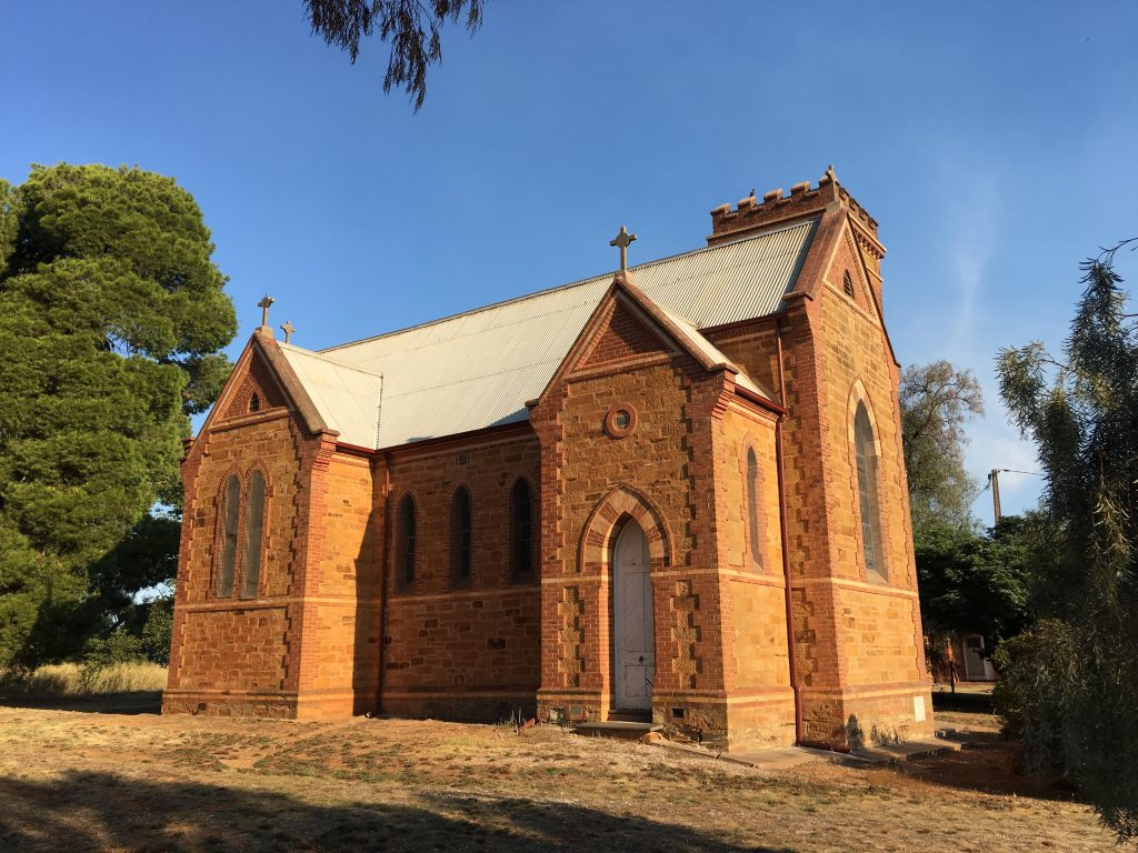 St Aidan's Church was built in 1894