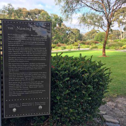 Wittunga Naming Walk, Wittunga Botanic Garden