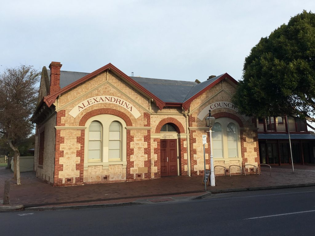 Town Hall and Council Chambers were build in 1860, with additions in 1878 and 1907