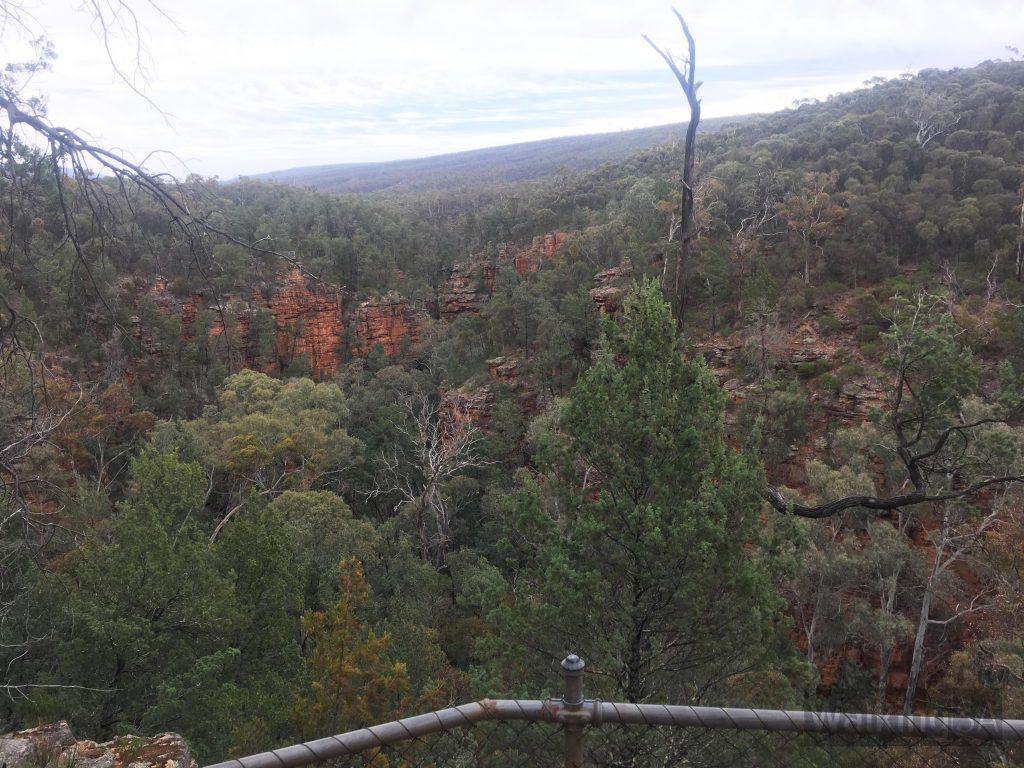 Views from the Gorge Lookout Walk into Alligator Gorge