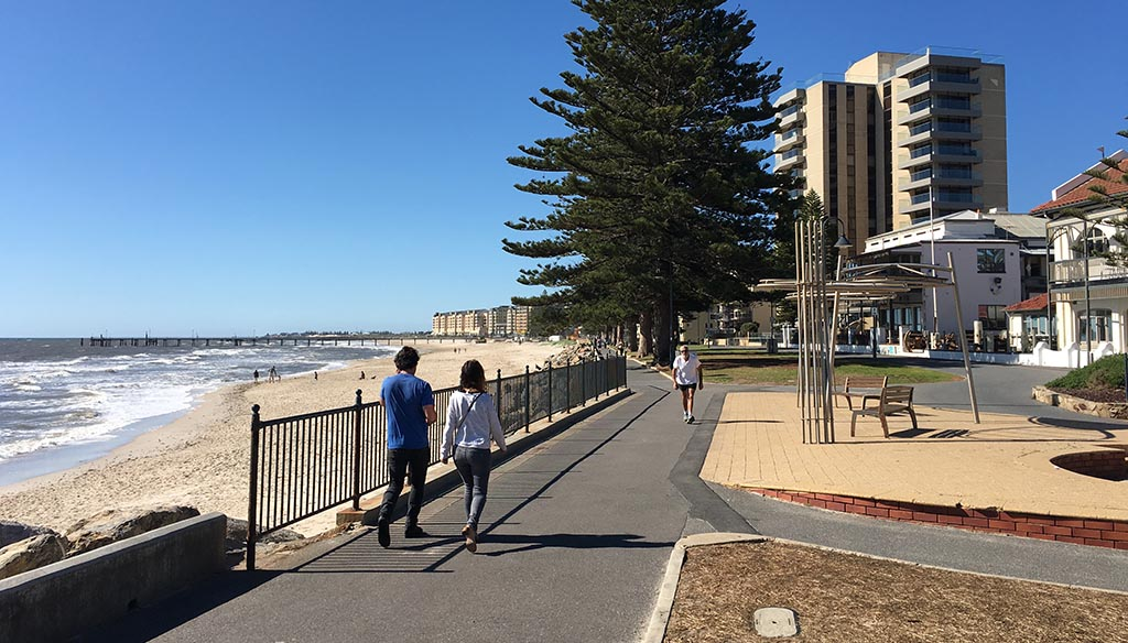 Coast Park Path along Adelaide's Beaches