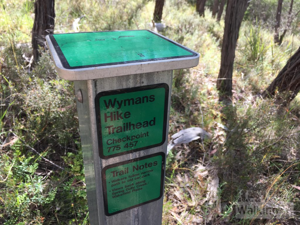 The Cascades Walk and Wymans Hike  are well marked with checkpoints and maps