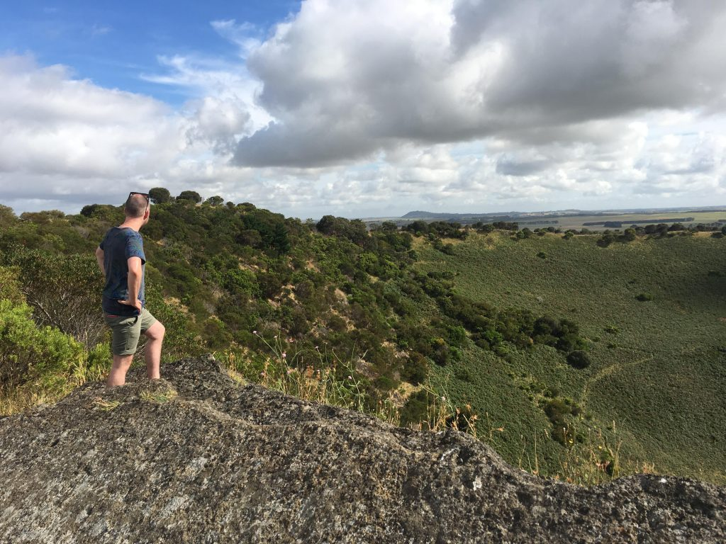 Mt Schank – Car Park to Crater Rim