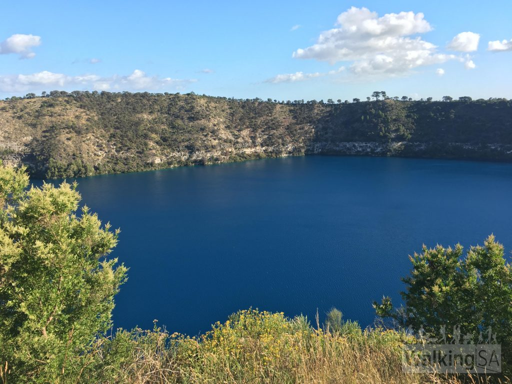 View of the Blue Lake from The Rotary Lookout
