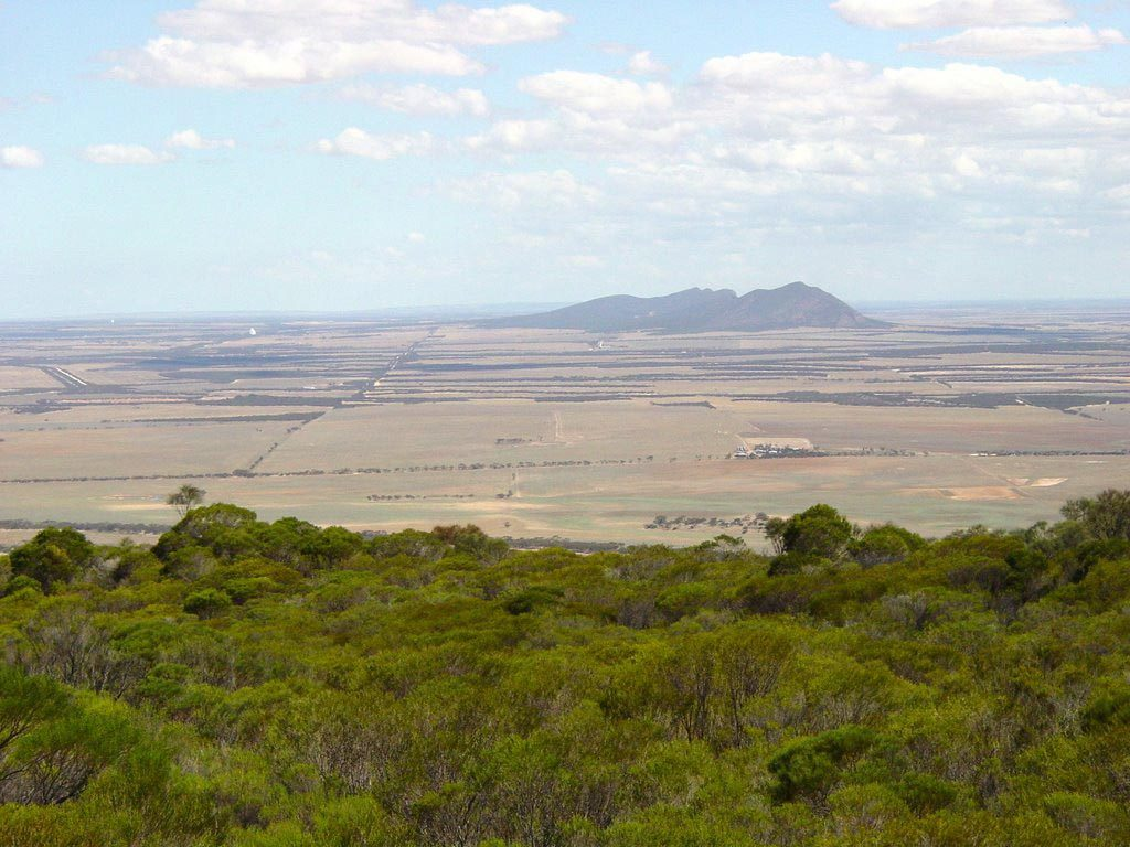 Views from the summit of Carappee Hill, the highest peak on the Eyre Peninsula
