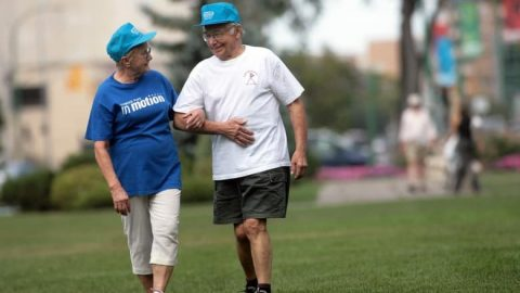 For people aged over 60, the benefits of walking at a fast pace increased