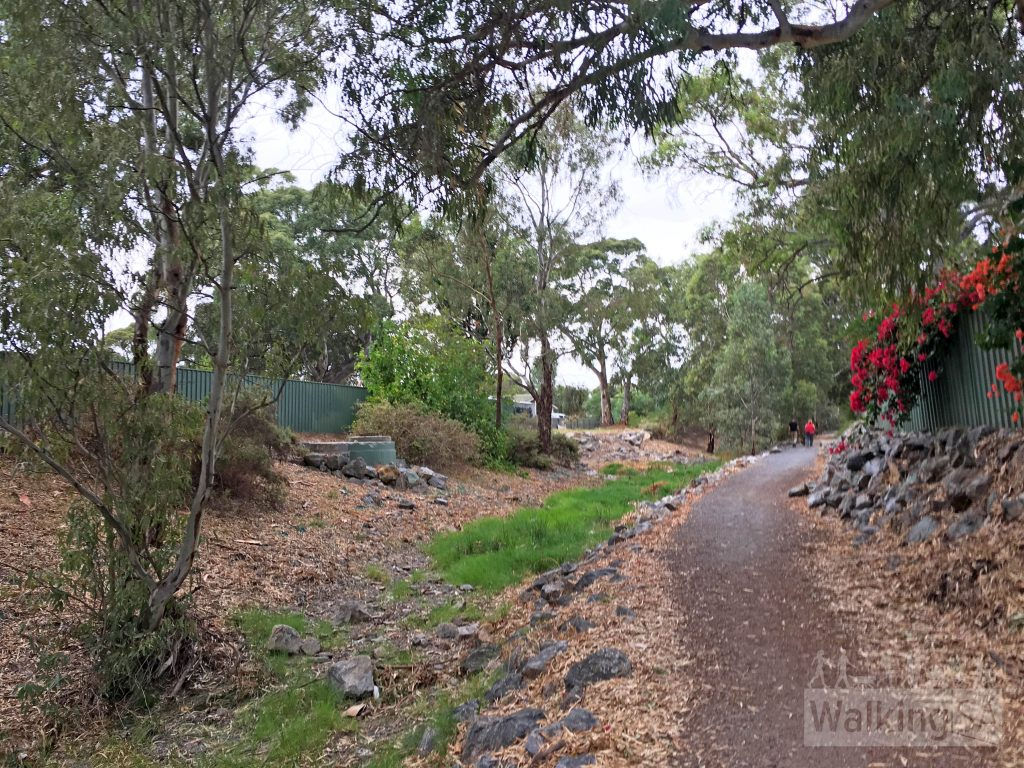 Christie Creek Linear Trail in Morphett Vale