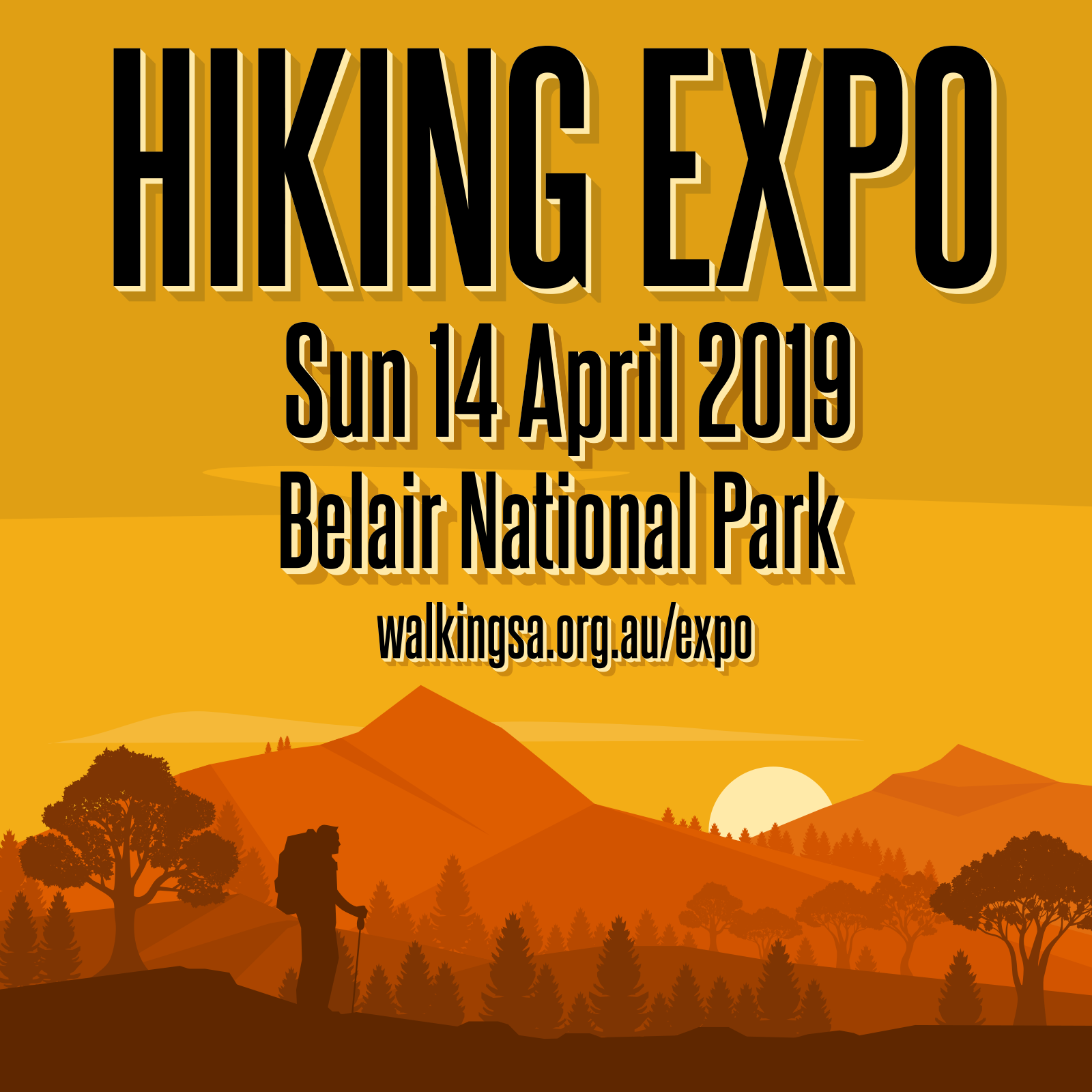 Hiking Expo, Sunday 14th April 2019