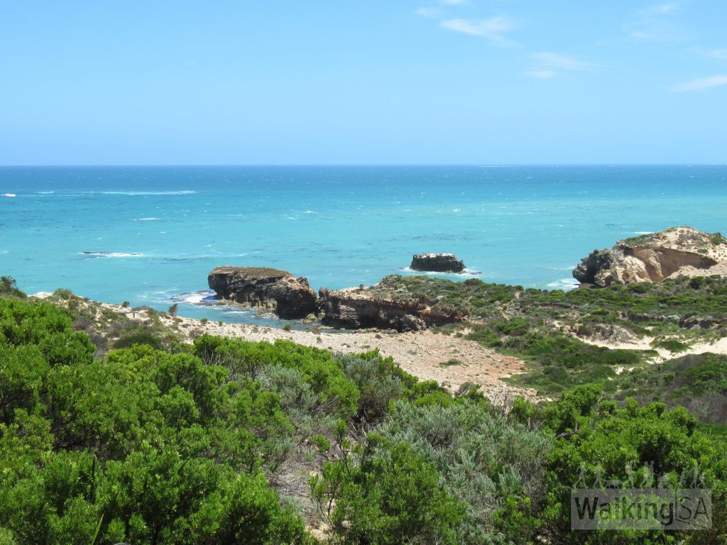 Views from Willichum Lookout in Canunda National Park