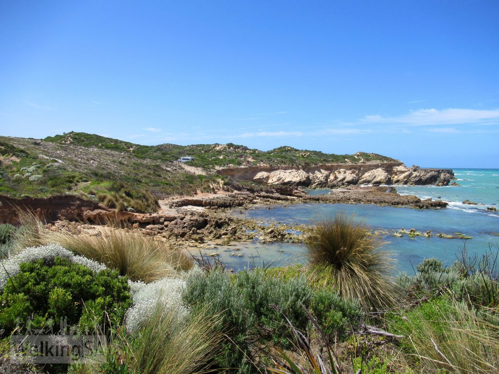Views of some of the more exposed coastline on the Cape Buffon Walk