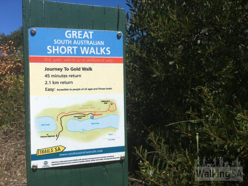The Journey to Gold Walk is listed as one of South Australia's best short walks