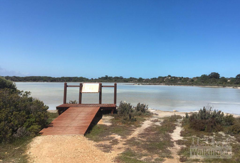 The Sandstone Quarry lake