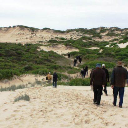 Barkers Knoll Ocean Beach walk