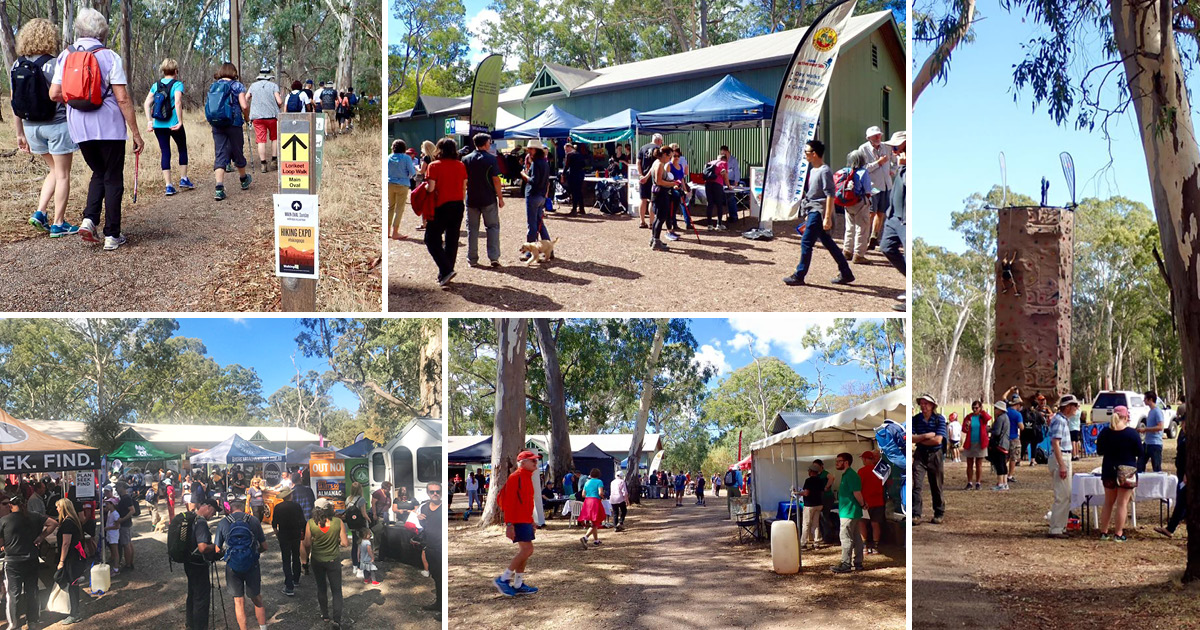 Hiking Expo in Belair National Park, 14 April 2019