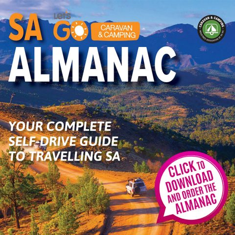 Order your 2019 Let's Go Caravan and Camping Almanac now to pick up a hard copy for FREE at this Sunday's Hiking Expo