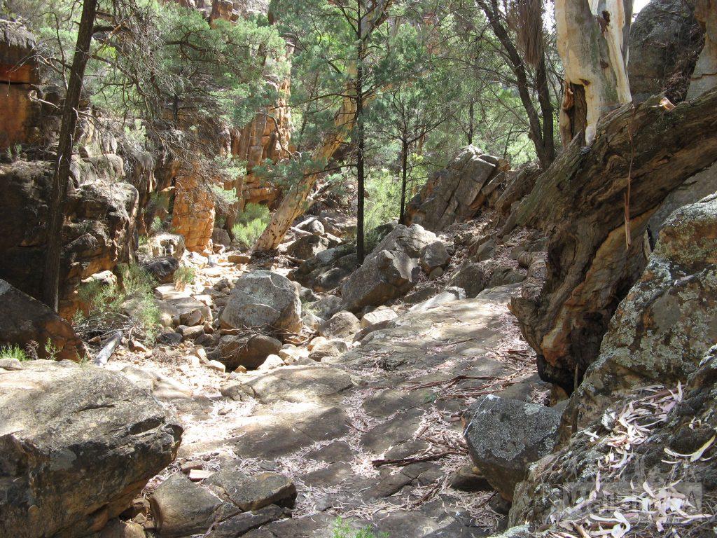 Edeowie Gorge near Malloga Falls