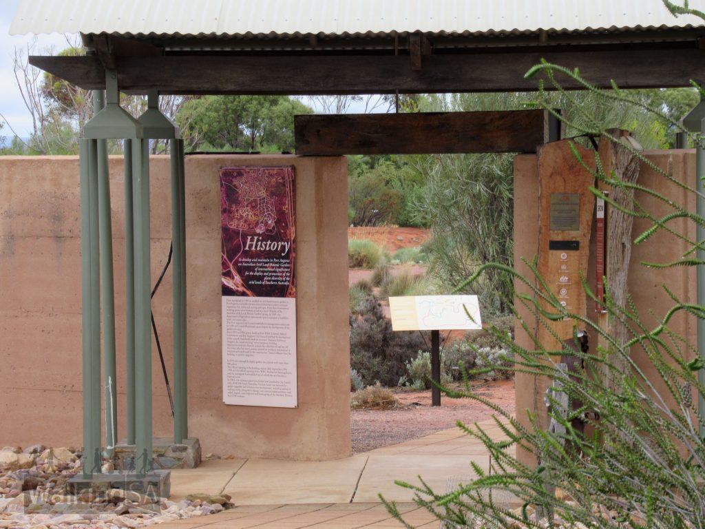Entrance to the Relfection Garden